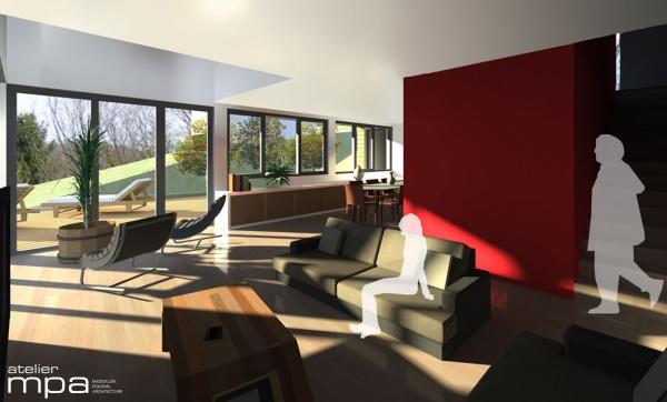 les projets de l 39 atelier mpa maison pa. Black Bedroom Furniture Sets. Home Design Ideas