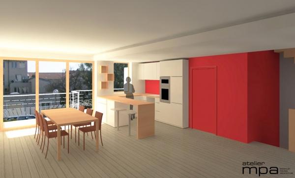 les projets de l 39 atelier mpa logements individuels group s. Black Bedroom Furniture Sets. Home Design Ideas