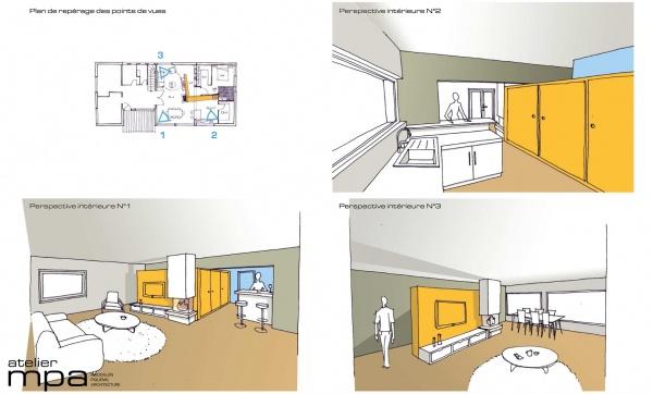 les projets de l 39 atelier mpa extension cb. Black Bedroom Furniture Sets. Home Design Ideas