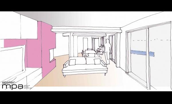 les projets de l 39 atelier mpa extension go. Black Bedroom Furniture Sets. Home Design Ideas