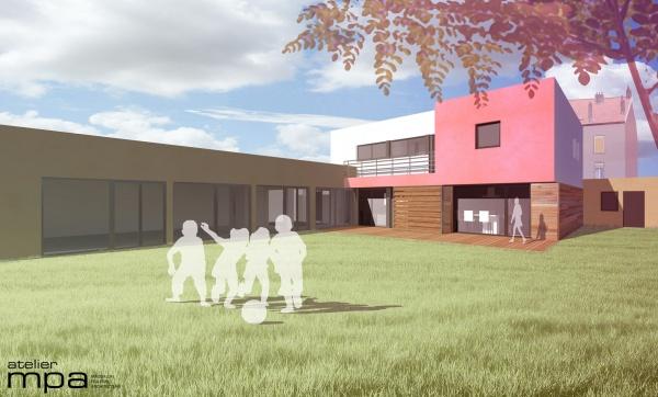 les projets de l 39 atelier mpa maison la. Black Bedroom Furniture Sets. Home Design Ideas