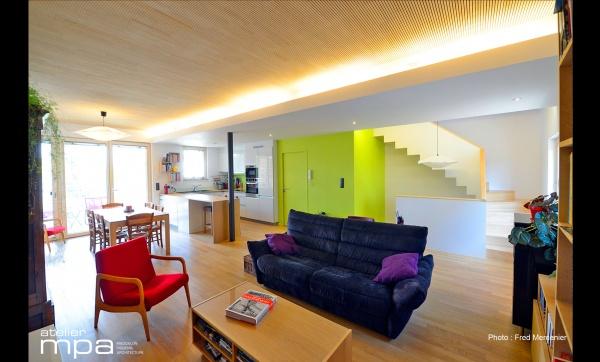 les projets de l 39 atelier mpa 3 maisons saint max. Black Bedroom Furniture Sets. Home Design Ideas